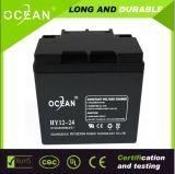 海洋AGM SMF Valve Regulated 12V Lead Acid電池12V24ah CT24 12