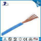El PVC aisló el alambre de cobre y el cable estañados UL1007 para el cableado interno de fines generales del equipo electrónico y eléctrico