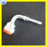 90 Grad-Krümmer-metrische hydraulische Einlage-Kupplung