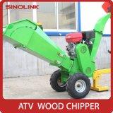 HP de potencia del motor de gasolina de 13.5-15Hoja de madera trituradora Shredder