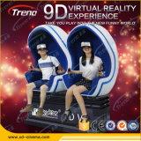 2 asientos 9d Cristal VR de la Realidad Virtual 9D simulador de cine