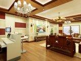 Современном стиле декоративных настенных панелей WPC строительных материалов для использования внутри помещений