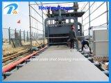 Ruggine efficiente che rimuove la macchina di pulitura di granigliatura di Quipment