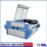 Tagliatrice di cuoio del laser del CO2 del coperchio di sede dell'automobile con le doppie teste/sistema d'alimentazione automatico