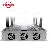 Antena 6 Gran potencia de salida coche Control Remoto Jammer, GPS, WiFi, Lojack, Walky-Talky Jammer, aislante de la señal de teléfono móvil