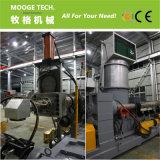 Gránulo de plástico reciclado de residuos que hace la máquina