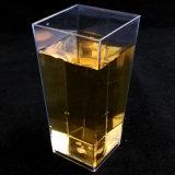 Onces vert d'eau de cuvette géométrique grande en plastique de cuvette 3.5