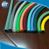Flexible tressé renforcé de fibre transparente en PVC flexible avec la norme ISO9001