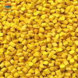 Masterbatch de color amarillo de la película y hojas