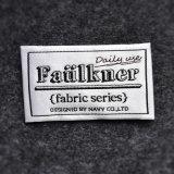 De Fabriek van Fuhan van Hangzhou paste de Geweven Etiketten van de Polyester van 100% Kleding aan