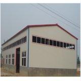 Klimahelles Stahlkonstruktion-Fabrik-vorfabriziertgebäude