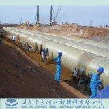 FRP GRP aufbereitetes Rohr für Kraftwerk