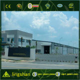 La construcción de edificios de 2017 metales proyecta la estructura de acero industrial