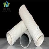 Sacchetti filtro antistatici del collettore di polveri del poliestere che mescolano fibra di rame