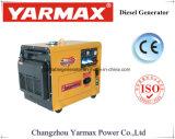 低いオイルレベルの警報システムおよび低雑音の実行を用いる50Hzディーゼル発電機