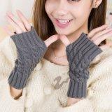 Оптовая торговля женских Finger-Less основных трикотажные подогреватель детского питания рычага акриловый трикотажные длинные перчатки