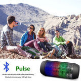 LED Bluetooth Outdoor Wireless Speaker Luz de pulso com diferentes cores