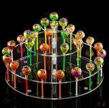 3 couches de l'acrylique Assemblée Lollipop afficher