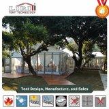 Luxuxhochzeits-Festzelt mit Glaswand für Hochzeiten und Parteien
