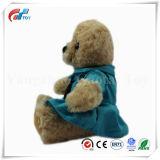 De kleine Eenvormige Politie van de Teddybeer van de Grootte Bruine draagt Stuk speelgoed
