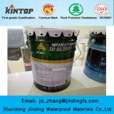 Enduit imperméable à l'eau de polyuréthane constitutif simple pour la toiture