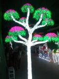 Château léger décoratif de stationnement de Noël de DEL pour la décoration carrée