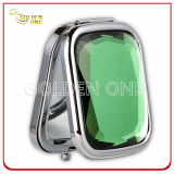Fshion Design Chrome Plated Folding Square Compact Mirror