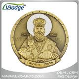 Moneta antica smaltata poco costosa del metallo del ricordo