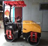 아스팔트 진동하는 도로 롤러 기계 Fyl-900를 위한 1 톤 소형 Uesd