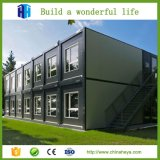 노동자를 위한 건축 강제노동수용소 집이 콘테이너 집 조립식 가옥에 의하여 유숙한다