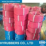 Sauerstoff-Acetylen-einzelner/Doppelschweißens-Textilflechten-Gummi-Schlauch