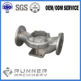 Giuntura di tubo diritta persa della fusion d'alluminio della cera con lavorare di CNC