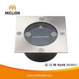 3V 0.1W Ni-MH IP65 LED lámpara solar con CE
