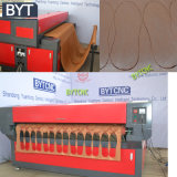 Gravura do laser do CO2 e máquina de estaca para o poliéster de borracha acrílico