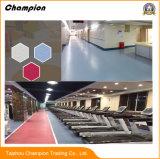 De nouveaux produits Maple PVC Topflor Salle de Gym Sports de parquet, de revêtements de sol PVC athlétique intérieure Salle de Gym Fitness-de-chaussée