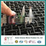 Eisen-Maschendraht-galvanisiertes quadratisches Maschendraht-Filter-Ineinander greifen