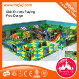 Люкс крытое мягкое оборудование спортивной площадки детей игры для сбывания