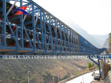 De Elektrische centrale van het cement en de Transportband van de Haven