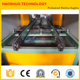 Máquina de soldadura ondulada da emenda da aleta