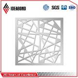 ¡El último diseño 2017! El panel compuesto de aluminio tallado CNC de la pantalla de Ideabond