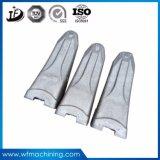 Position de dents d'excavatrice de pièce forgéee de traitement thermique de positions/pelle rétro/pièces industrielles/train d'atterrissage