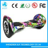 Scooter électrique d'Individu-Équilibre de planche à roulettes de roue pneumatique de 10 pouces
