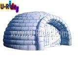 Baldacchino gonfiabile della tenda dell'iglù del globo per l'evento
