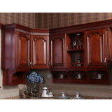 Oppeinイタリアの贅沢なチェリーの純木の食器棚デザイン(OP14-123)
