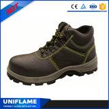 De Schoenen S1p Ufa002 van de Veiligheid van de Neus van het Staal van het Leer van mensen