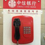 VoIP allgemeines Lautsprecheranlagen-öffentlicher Dienst-Telefon-wetterfestes Telefon Knzd-04A