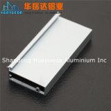 Profil en aluminium anodisé pour la porte de guichet