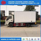 Dongfeng 4X2 3tons Abkühlung-Kasten-LKW verwendete gekühlten LKW