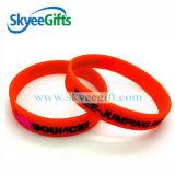 Kleine Geschenk-flüssiger reizender kundenspezifischer SilikonWristband