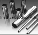 Tubo/tubo del acero inoxidable de ASTM A554 para usar cercar con barandilla de las escaleras